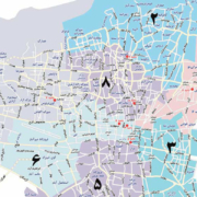 مناطق مخابرات در منطقه 8